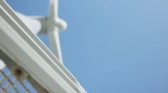 Turbine Windmill Background - 29,97FPS NTSC Stock Footage