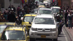 Traffic, Cars, Roads, Developing Nation, Driving Stock Footage