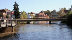 Bamberg (Bavaria) - stock footage