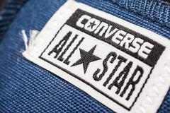 All Star Converse Sign - stock photo