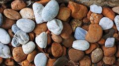 Pyöreä värikäs kivi kivet Kuvituskuvat
