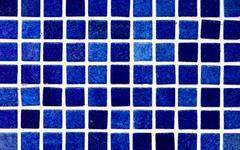 Mosaic Blue Shades Background Stock Photos