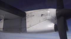 Airplane Propeller, Engines, Aircraft, Flight - stock footage