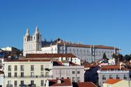 Stock Photo of alfama, lisbon, portugal