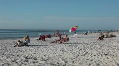 Naples Florida beach tourism destination HD 2014 Stock Footage
