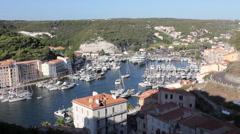 Stock Video Footage of Bonfacio in Corsica
