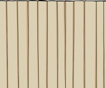 Tall fence over white Stock Illustration