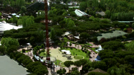 Stock Video Footage of Close up of amusement ride in Casa de Campo Park
