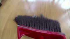 Broom Sweeping POV 1 (2.7K) Stock Footage
