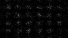 Twinkling led lights panel - stock footage