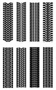 Tire shapes Stock Illustration