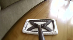 Sweep Mop POV 2 - stock footage