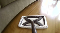Sweep Mop POV 2 2K Stock Footage