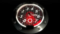 Stock Video Footage of Throttle - RPM (HD)