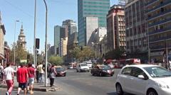 Stock Video Footage of 1278 Chile Santiago, Alameda Avenue
