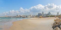 Tel Aviv riviera Stock Photos