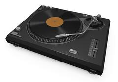 Turntable Stock Illustration