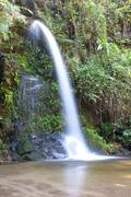 Natural waterfall Stock Photos
