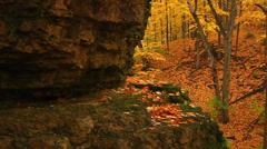 Rock Cut State Park Illinois Stock Footage