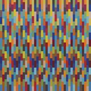 Seamless colorful square pattern mosaics Stock Illustration