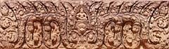 Bas-relief at banteay srei Stock Photos
