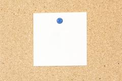 single note pad rectangular shape - stock photo