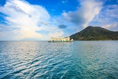 Stock Photo of koh chang thailand ferry boat