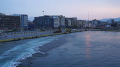 Port of Piraeus in Greece - stock footage