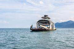Koh chang thailand ferry boat Stock Photos