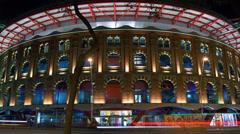Arenas de Barcelona in Barcelona, Spain. - stock footage