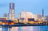 Stock Photo of yokohama skyline