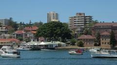 Manly harbour, sydney, australia Stock Footage
