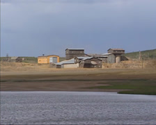 Exterior Storwartz gruve, copper mine, Part of Roros main mining areas Stock Footage
