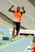 Karl Taillepierre of France in action on Triple Jump - stock photo