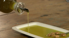 Olive Oil - stock footage