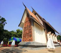 sala loi temple in korat - stock photo