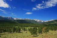 Stock Photo of rocky mountains scenics