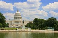 Stock Photo of us capitol building in washington dc
