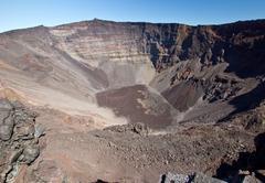Piton de la Fournaise volcano Stock Photos
