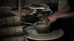 Clay pottery Stock Photos