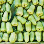 green rose apple - stock photo