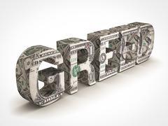 Stock Illustration of greed