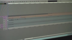 Editing Software Rendering A Sequence  Stock Footage
