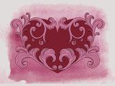 Vector valentine's greeting card Stock Illustration