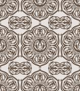 Stock Illustration of vector seamless floral vintage pattern