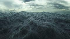 Rough Sea saumaton silmukka. Arkistovideo