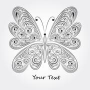 Stock Illustration of vector butterfly