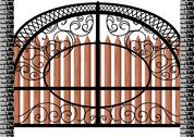 Stock Illustration of gate