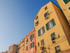 Stock Photo of genoa old town