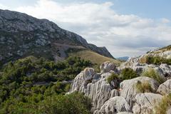 cape formentor on majorca, balearic island, spain - stock photo